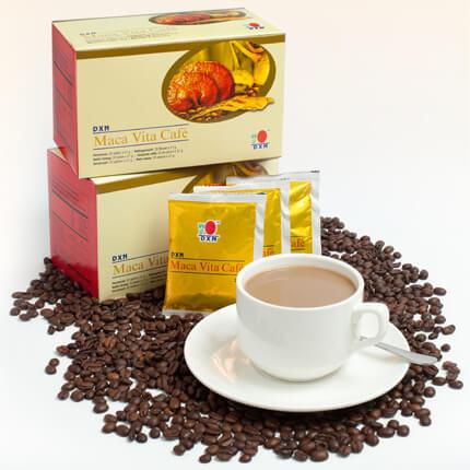 Maca Vita Café DXN (café con ganoderma, maca y ginseng)