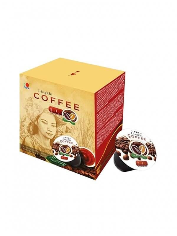 DXN Lingzhi 3en1 (café con leche con ganoderma) en cápsulas