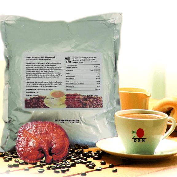 Lingzhi Café 3 en 1 (café con leche con ganoderma) (megapack 1kg)